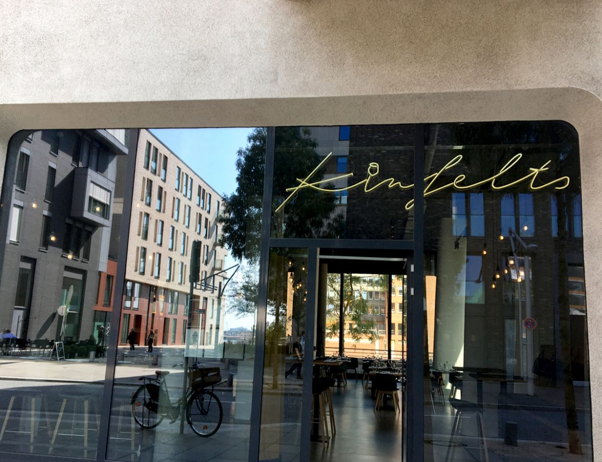 Kinfelts Kitchen & Wine in der Hamburger HafenCity